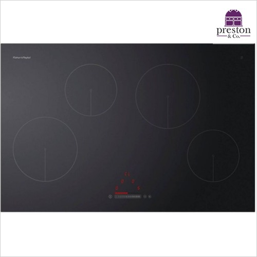 Fisher & Paykel - 80cm 4 Zone Touch & Slide Induction Hob