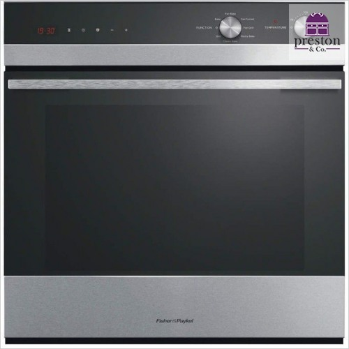 Fisher & Paykel - Built-In 600mm 7 Function Single Oven 112mm Fascia